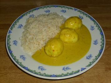 Indisches Eier Curry - Rezept