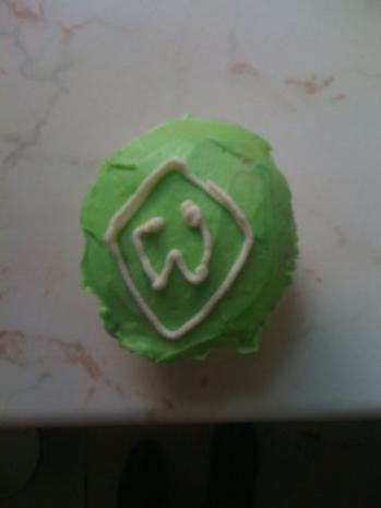 Werder- Bremen Cupcakes - Rezept - Bild Nr. 2
