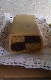 Rezept: Schokoladen- Battenberg- Kuchen