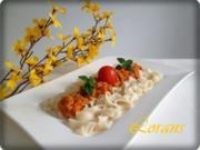 Bolognese Sauce mit selbstgemachten Bandnudeln - Rezept