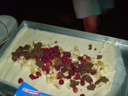 Süße Calzone vom Grill - Rezept