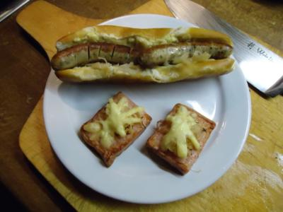 """Hotdog """"Bayrischer Art"""" - Rezept"""