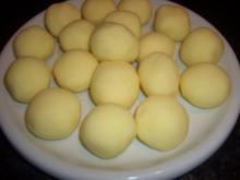 Kartoffelklöße mit Pestofüllung - Rezept
