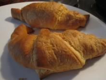 Apfel-Zimt-Croissants - Rezept