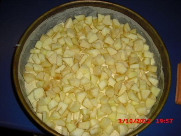 Apfelkuchen mit Streusel - Rezept
