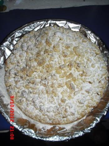 Apfelkuchen mit Streusel - Rezept - Bild Nr. 3