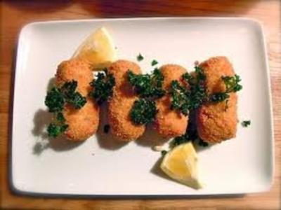 Croquettes de crevettes - Rezept