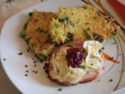 Kasseler mit Birne und Camembert - Rezept
