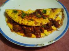 Feuriges Champignon-Omelette a la Achim - Rezept