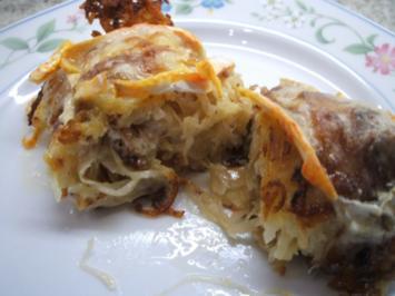 Kartoffeln: Gefüllte Baggers - Rezept