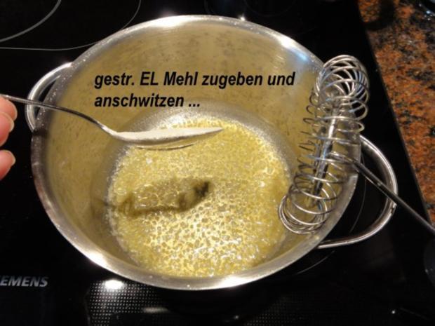 Fisch:   SEELACHS mit Seitling-Käse-Kruste - Rezept - Bild Nr. 6
