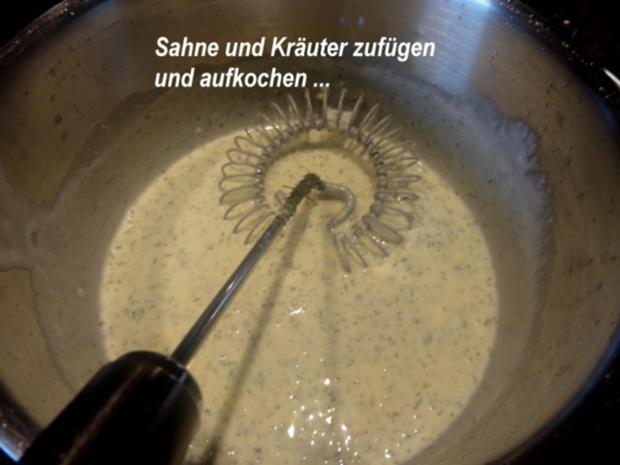 Fisch:   SEELACHS mit Seitling-Käse-Kruste - Rezept - Bild Nr. 7