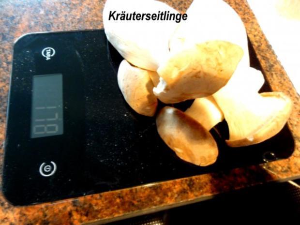 Fisch:   SEELACHS mit Seitling-Käse-Kruste - Rezept - Bild Nr. 4