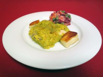 Tamales mit peruanischem Salat und Yuca - Rezept