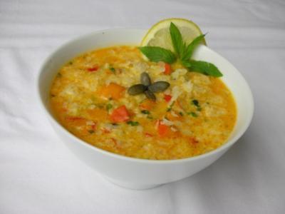 Bulgarische Kürbissuppe - Rezept