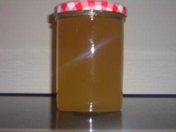 Rotes und weisses Gelee vom Glühwein - Rezept