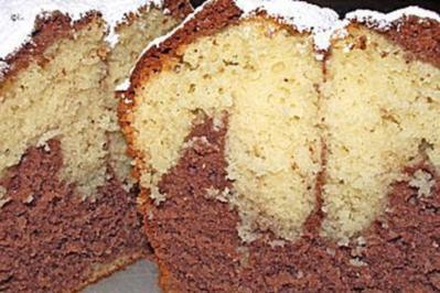 Der gute alte Marmorkuchen - Rezept