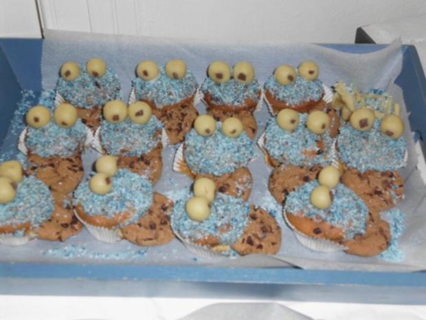 Krümelmonster-Cupcakes - Rezept - Bild Nr. 3