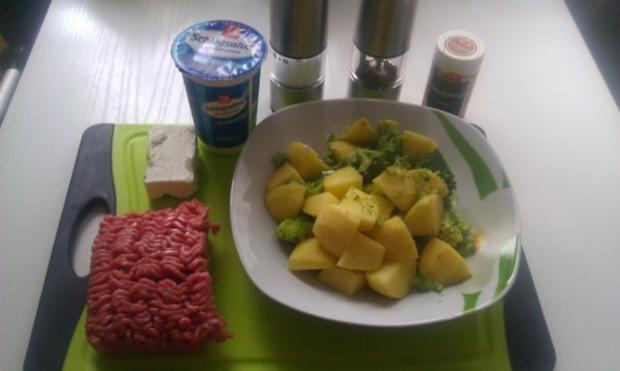 Kartoffel - Broccoli Cremesuppe mit Hackfleisch - Rezept - Bild Nr. 2