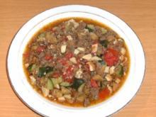 Hauptgericht: Gemüse, mediterran V. 1 - Rezept
