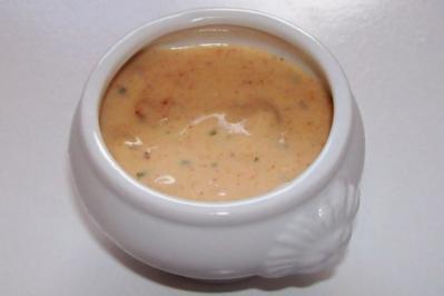 Würziger Mango-Erdnuss-Dip - Rezept