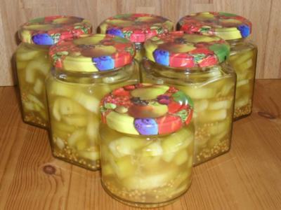 Honiggurken - Rezept
