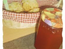 Erdbeer-Hibiskus-Prosecco-Marmelade - Rezept