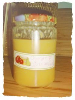 Orange and Lemon Curd - Rezept