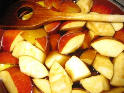 Quitten-Apfel-Aufgesetzter - Rezept