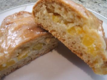 Backen: Mango-Quark-Täschchen - Rezept