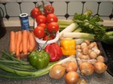 Gemüsebrühe - Gekörnte Brühe, Vorratsrezept - Rezept