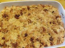Apfel-Birnen Crumble - Rezept