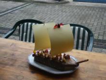 Roggenbrot-Sahnetorte - Rezept
