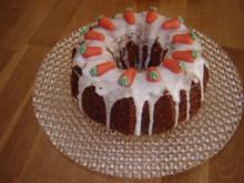 Saftiger  Möhrenkuchen - Rezept