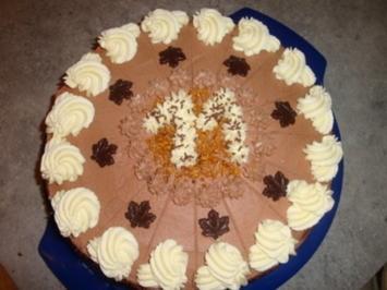 Schokoladen-Geburtstags-Torte - Rezept