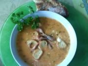 """bretonischer """"potage aux crevettes"""" - Rezept"""