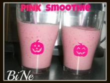 BiNe` S PINK SMOOTHIE - Rezept