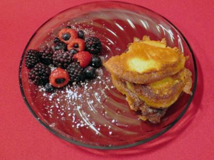 Pancakes mit Beeren - Rezept