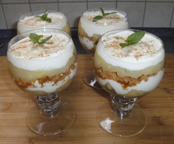 Apfel Quark Dessert Rezept Mit Bild Kochbarde