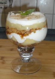 Apfel-Quark-Dessert - Rezept