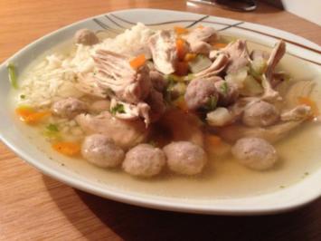 Schnelle Hühnersuppe - Rezept