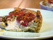 Ricotta-Tomaten-Tarte - Rezept