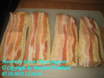 Fingerfood – Manfred's Bacon-Cheese Baguette - Rezept