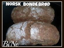 BiNe` S NORSK BONDEBRØD - Rezept