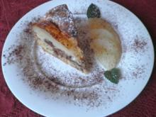 Kleiner Schoko - Birnen - Kuchen - Rezept