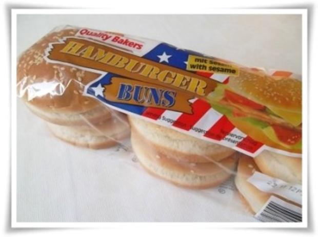 Hausgemachter Hamburger - Vegetarisch mit Lollo rosso Salat - Rezept - Bild Nr. 3