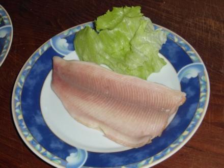 Forellenfilet mit frischem Sahne-Meerrettich - Rezept