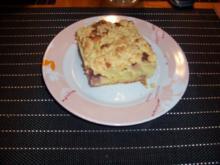 Apfel-Streuselkuchen mit Guss - Rezept