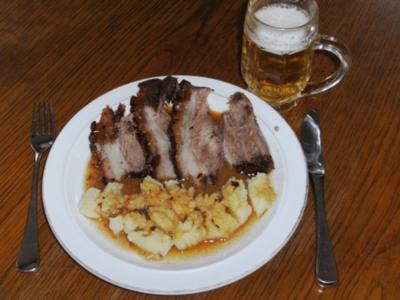 Fleisch: Schäufele, fränkische Art - Rezept