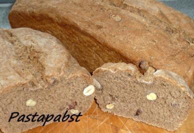 Haselnuss Brot - Rezept